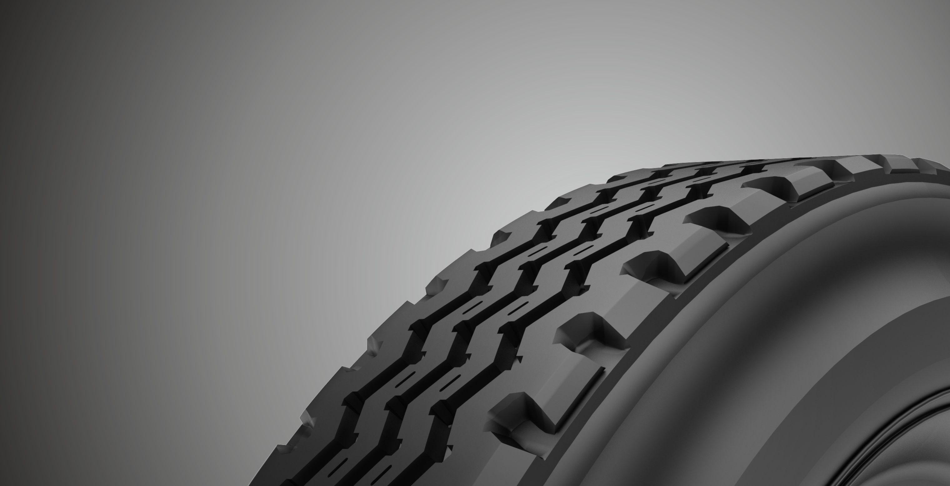 Truck tyre Tread